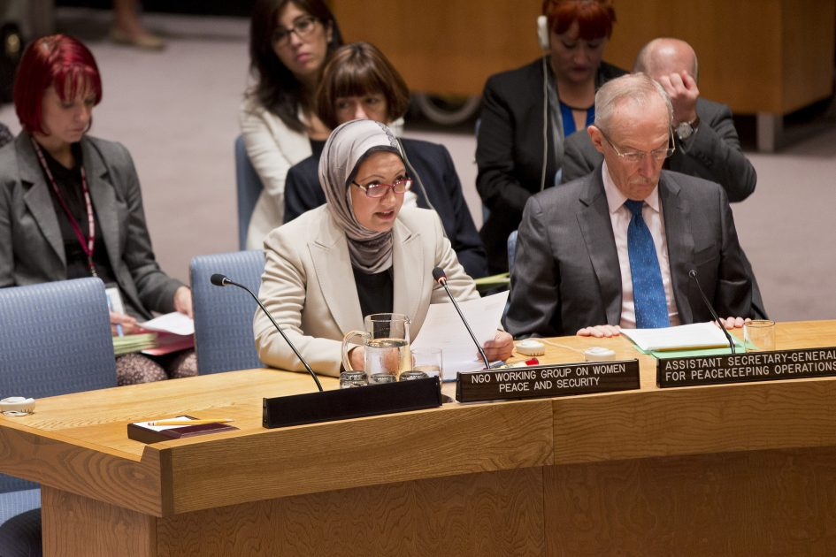 Statement by Ms. Suaad Allami at the UN Security Council Open Debate on Women, Peace and Security