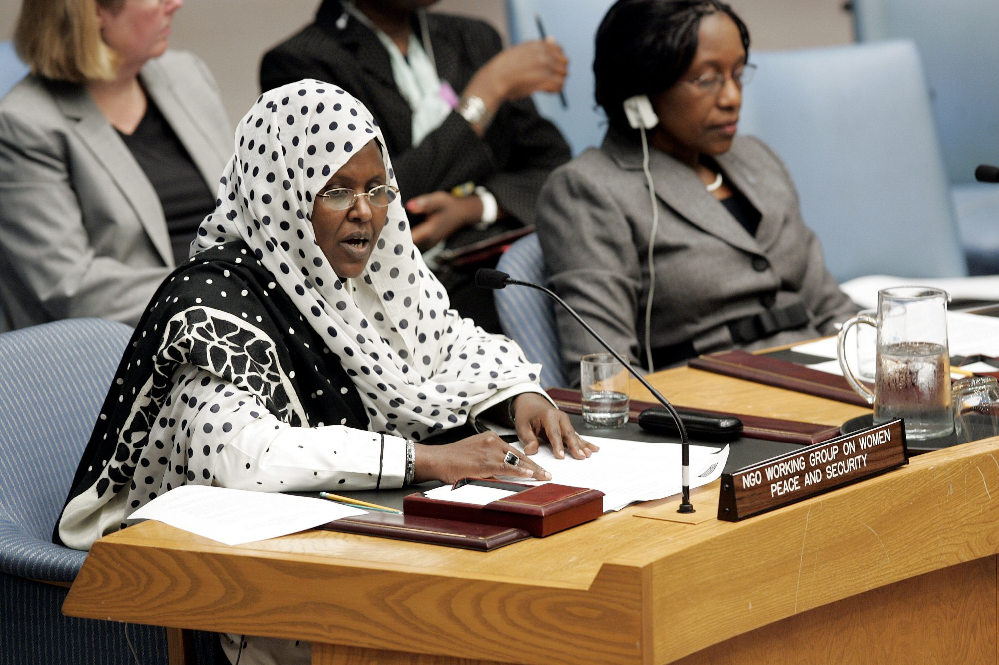 Statement to the Security Council by Ms. Asha Hagi Elmi Amin on SC Resolution 1325