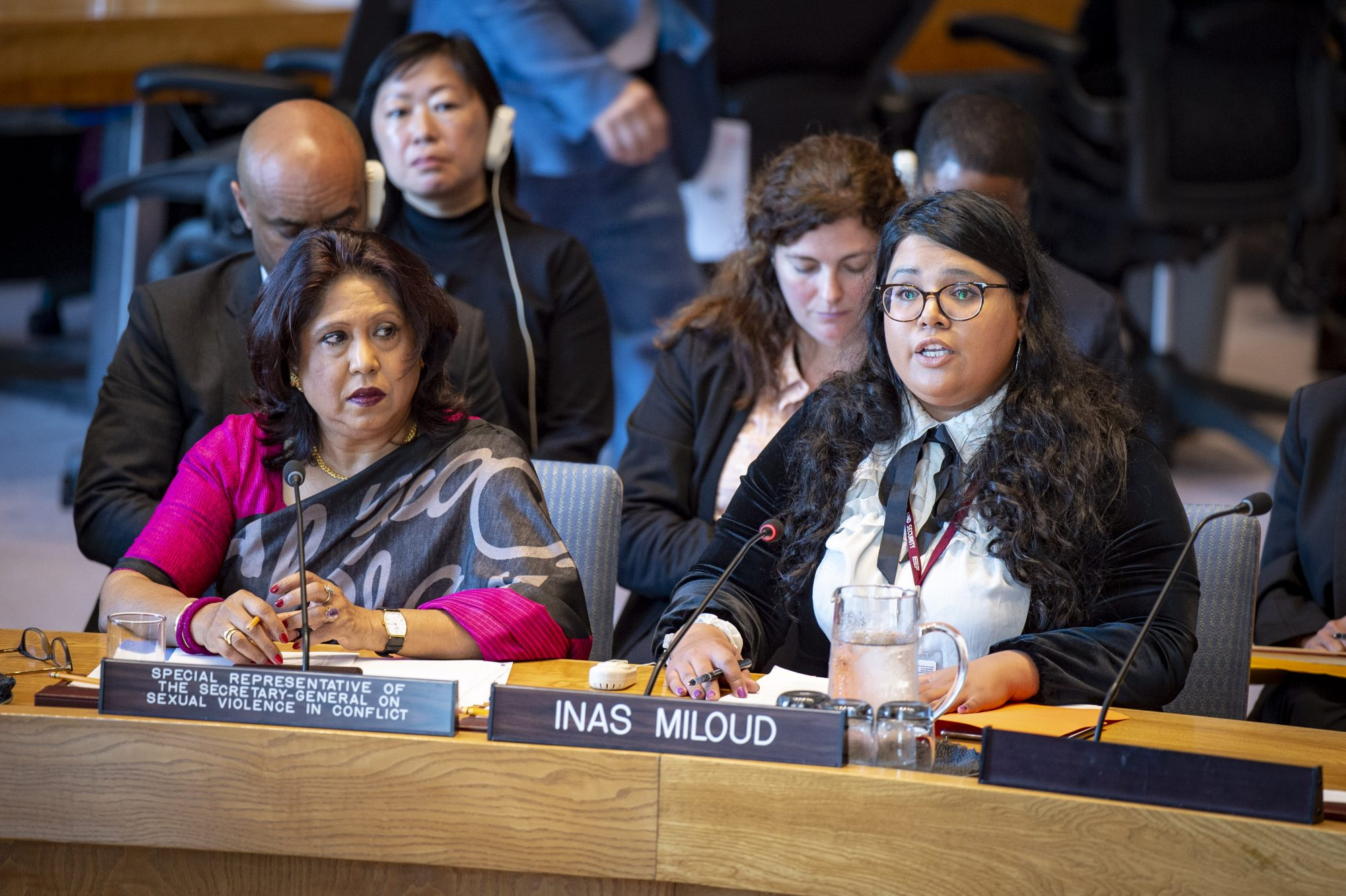 Statement by Ms. Inas Miloud at UN Security Council Open Debate on Sexual Violence in Conflict
