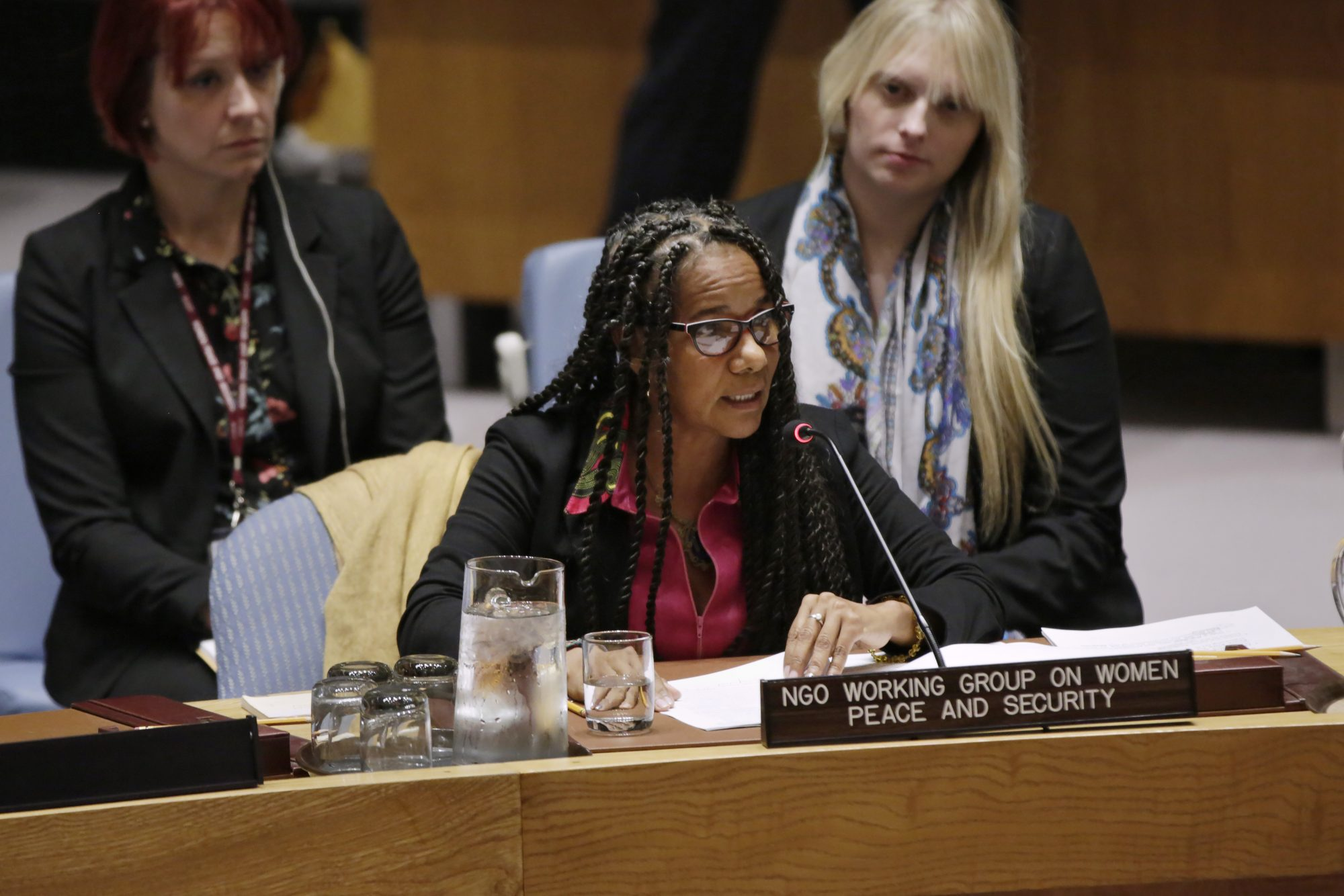 Statement by Ms. Charo Mina-Rojas at UN Security Council Open Debate on Women, Peace and Security