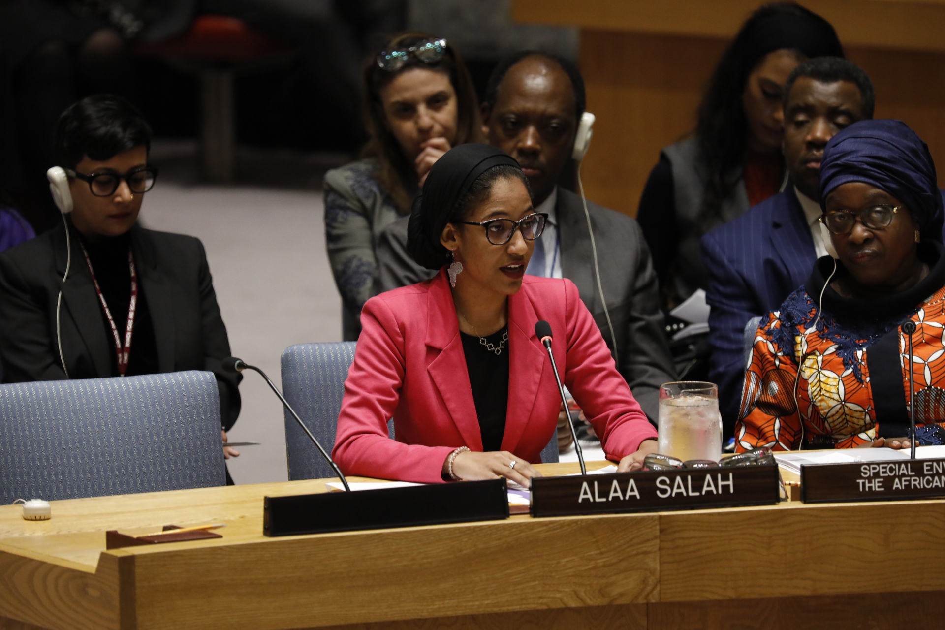 Statement by Ms. Alaa Salah at the UN Security Council Open Debate on Women, Peace and Security