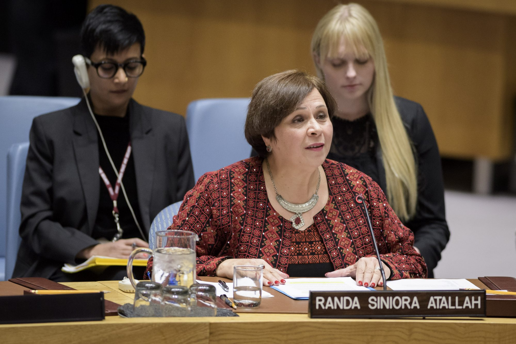 Statement by Ms. Randa Siniora at UN Security Council Open Debate on Women, Peace and Security