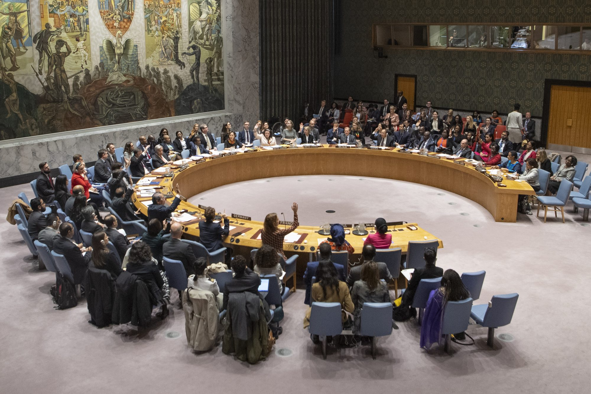 Analysis of the 2019 Women, Peace and Security Open Debate