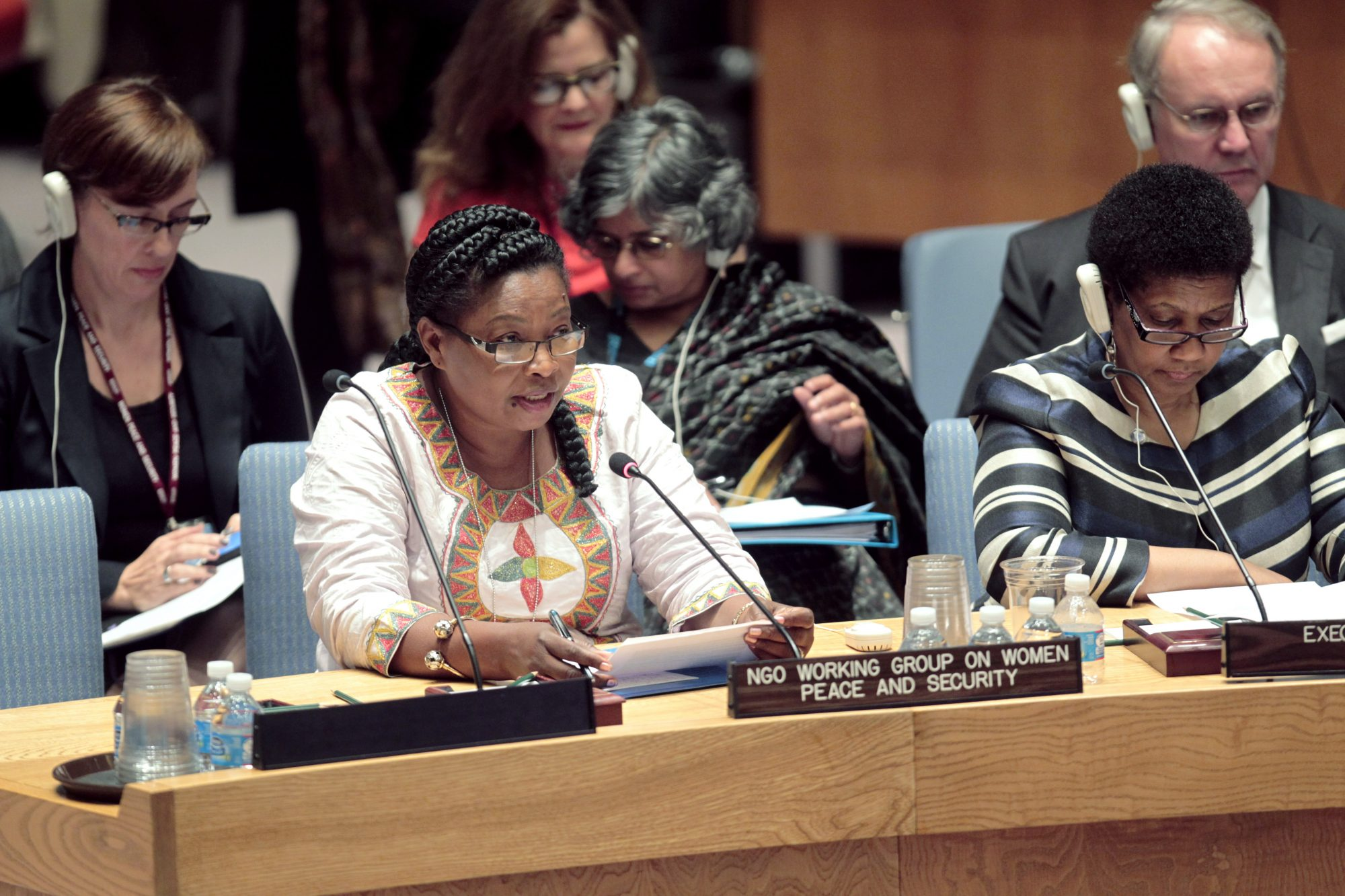 Statement by Ms. Brigitte Balipou at UN Security Council Open Debate on Women, Peace and Security