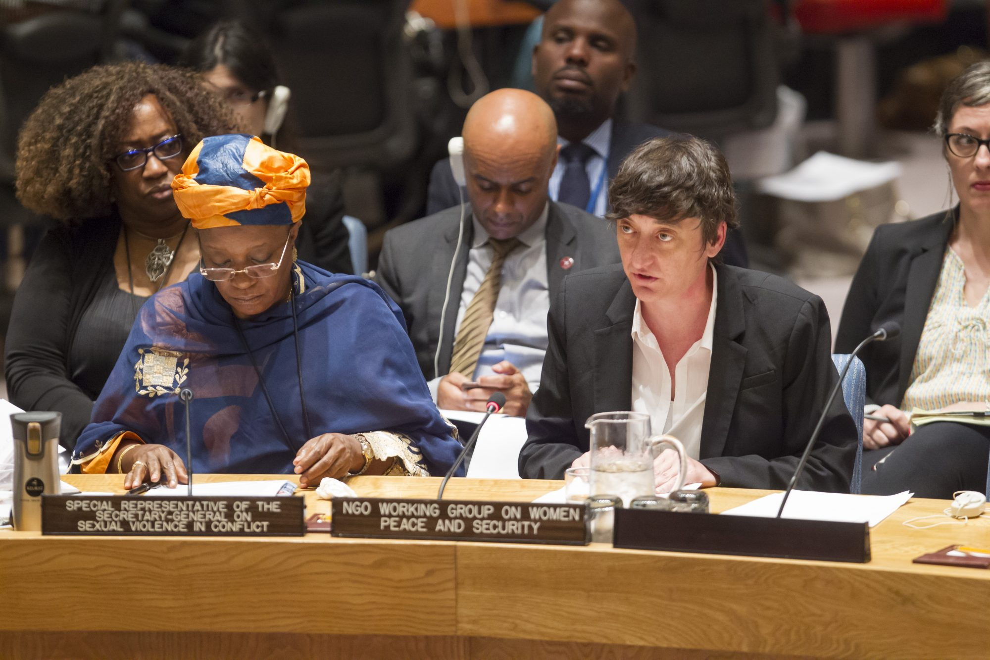 Statement by Ms. Lisa Davis at the UN Security Council Open Debate on Sexual Violence in Conflict