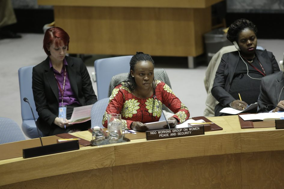 Statement by Ms. Rita Lopidia at UN Security Council Open Debate on Women, Peace and Security