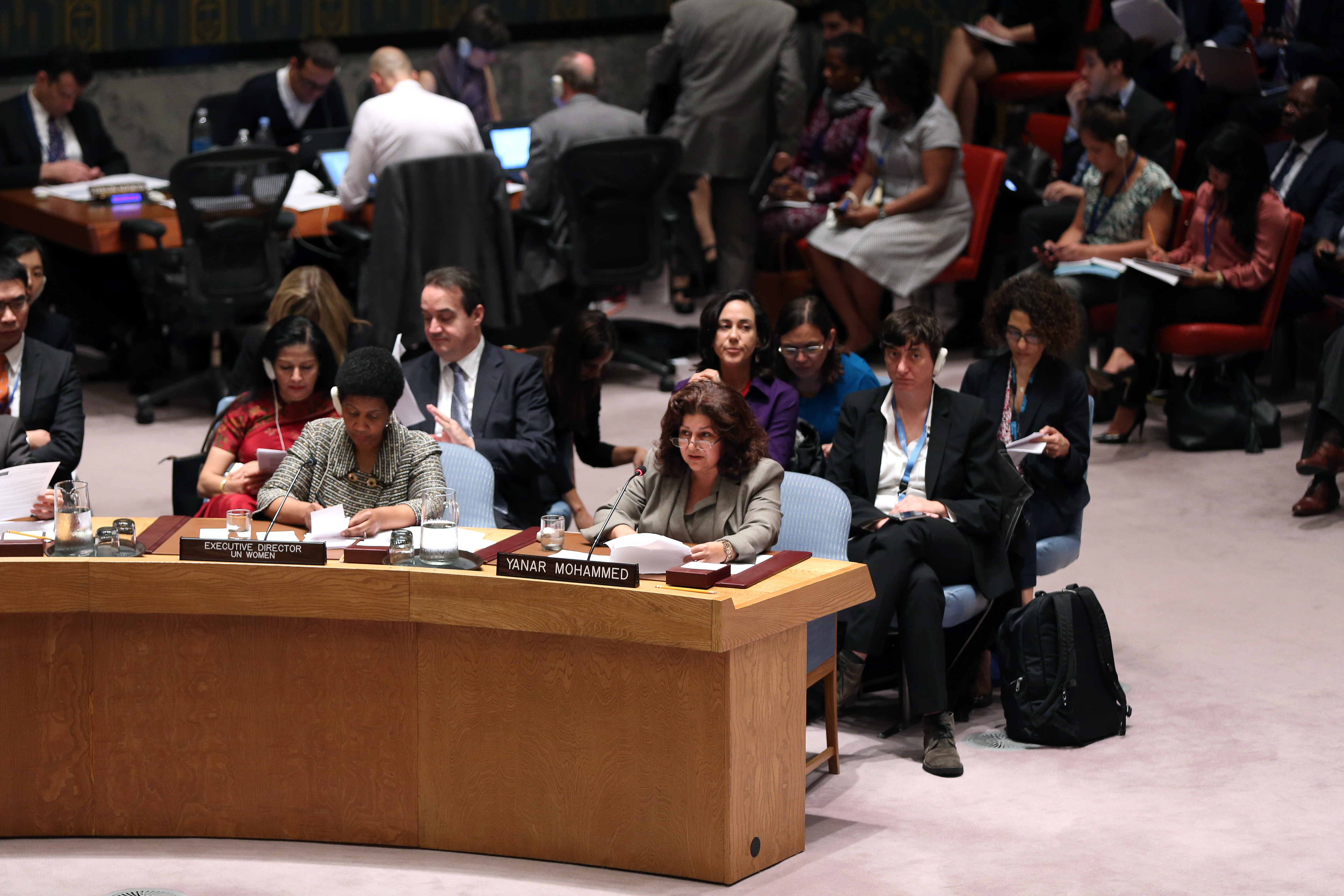 Statement by Ms. Yanar Mohammad at the UN Security Council Open Debate on Women, Peace and Security