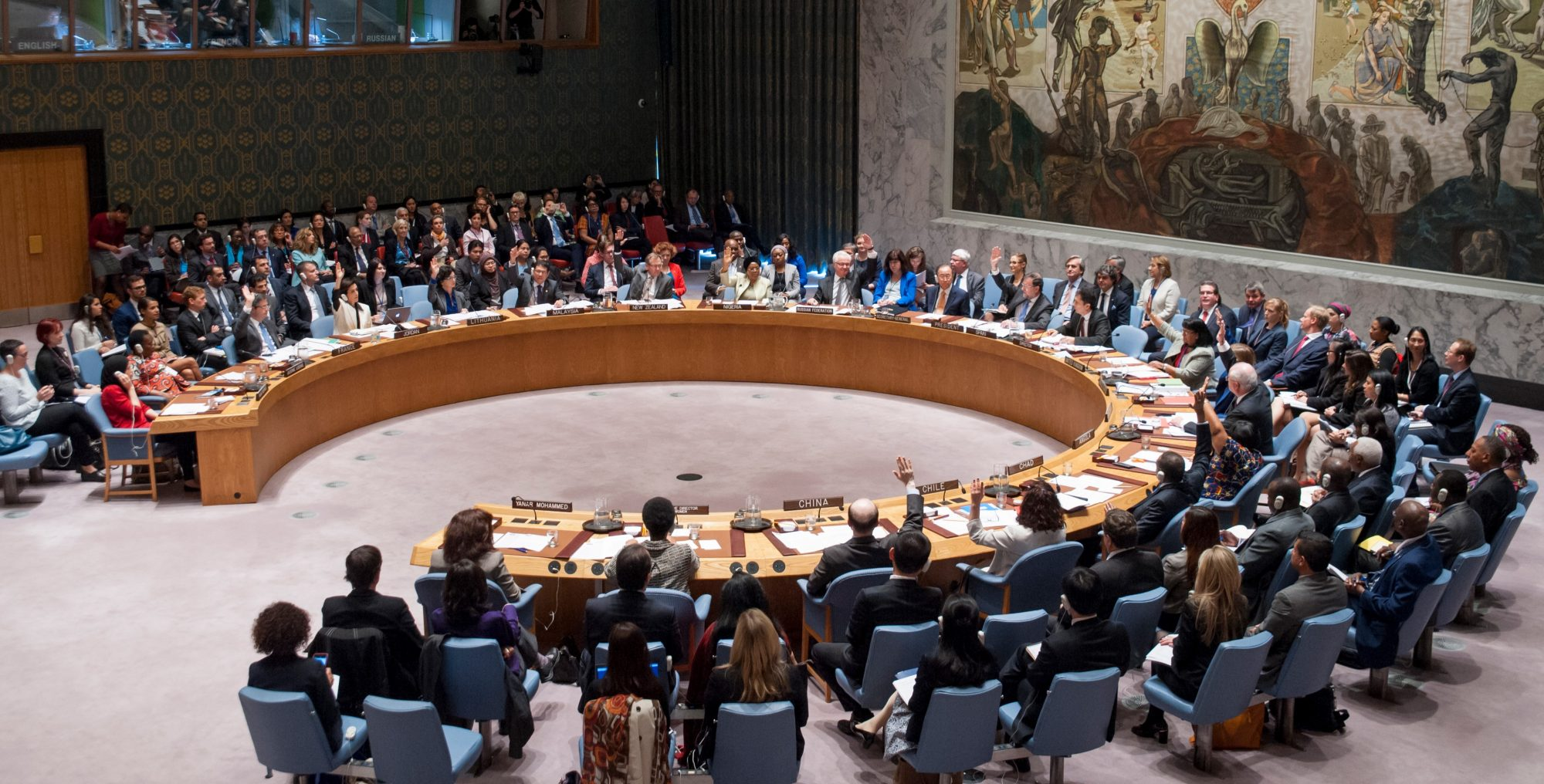 Snapshot of the Security Council and Women, Peace and Security in 2017
