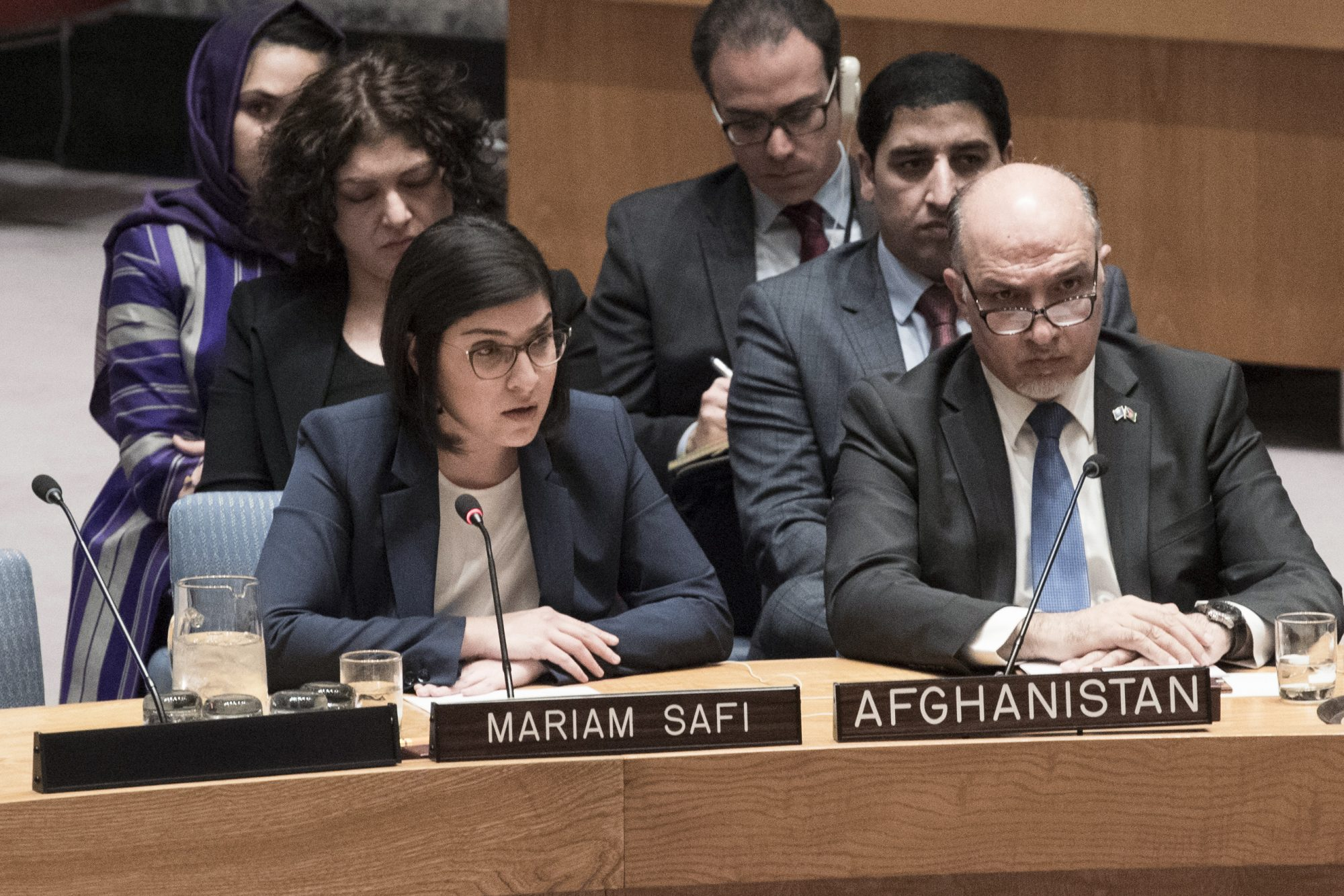 UN Security Council Briefing on Afghanistan by Mariam Safi