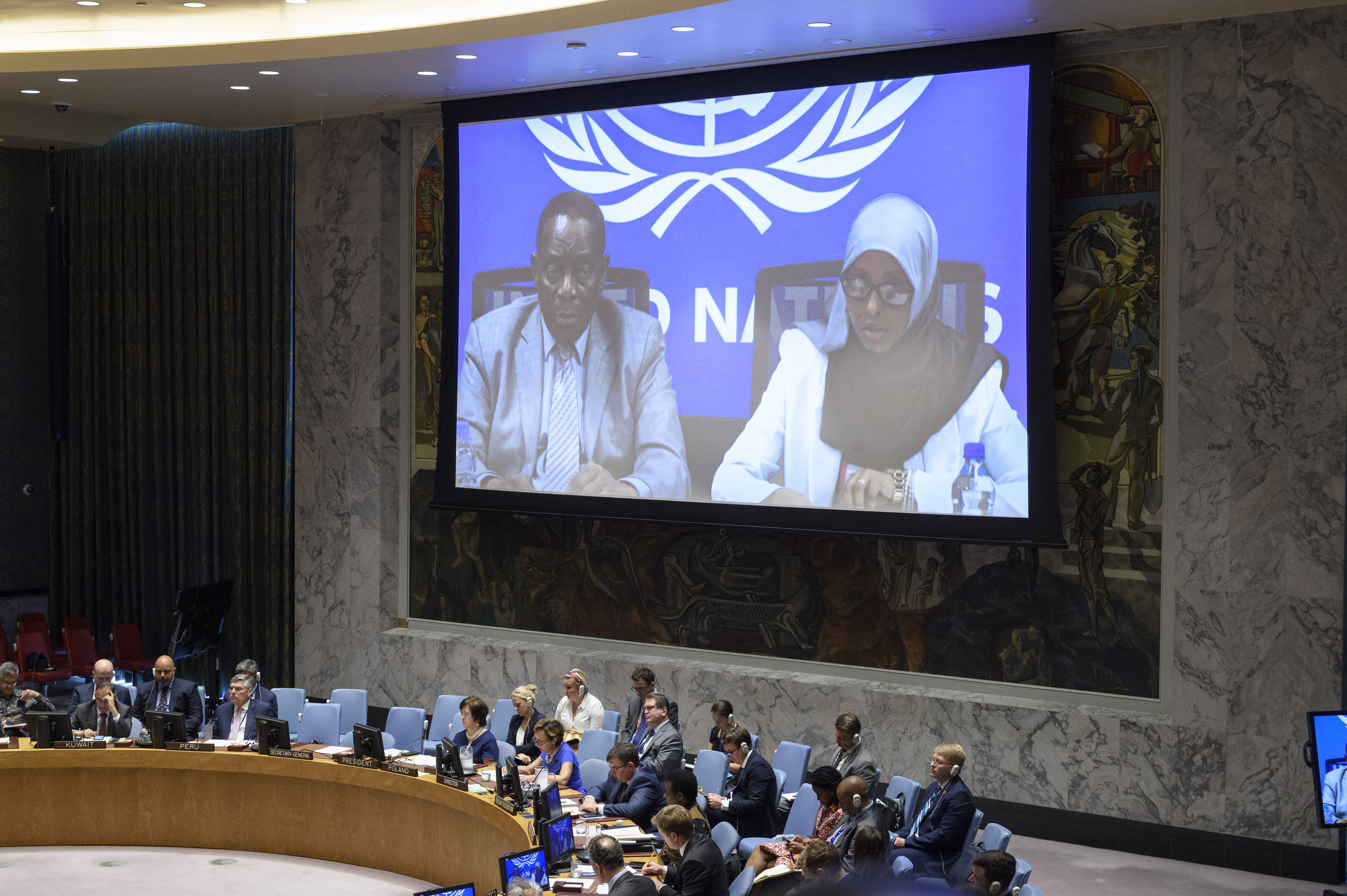 UN Security Council Briefing on Somalia by Amina Arale