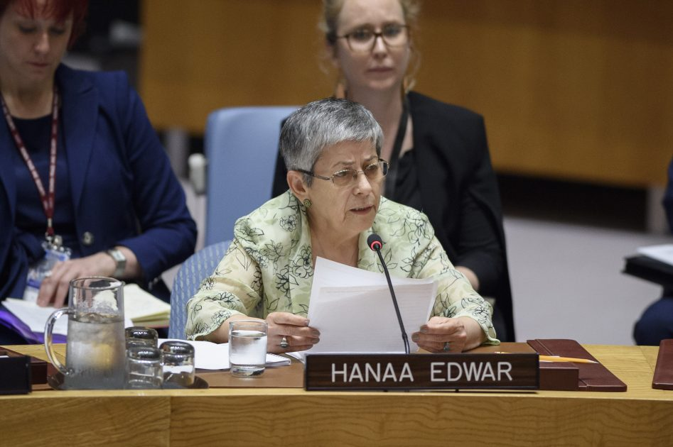 UN Security Council Open Debate on Protection of Civilians – Statement by Hanaa Edwar