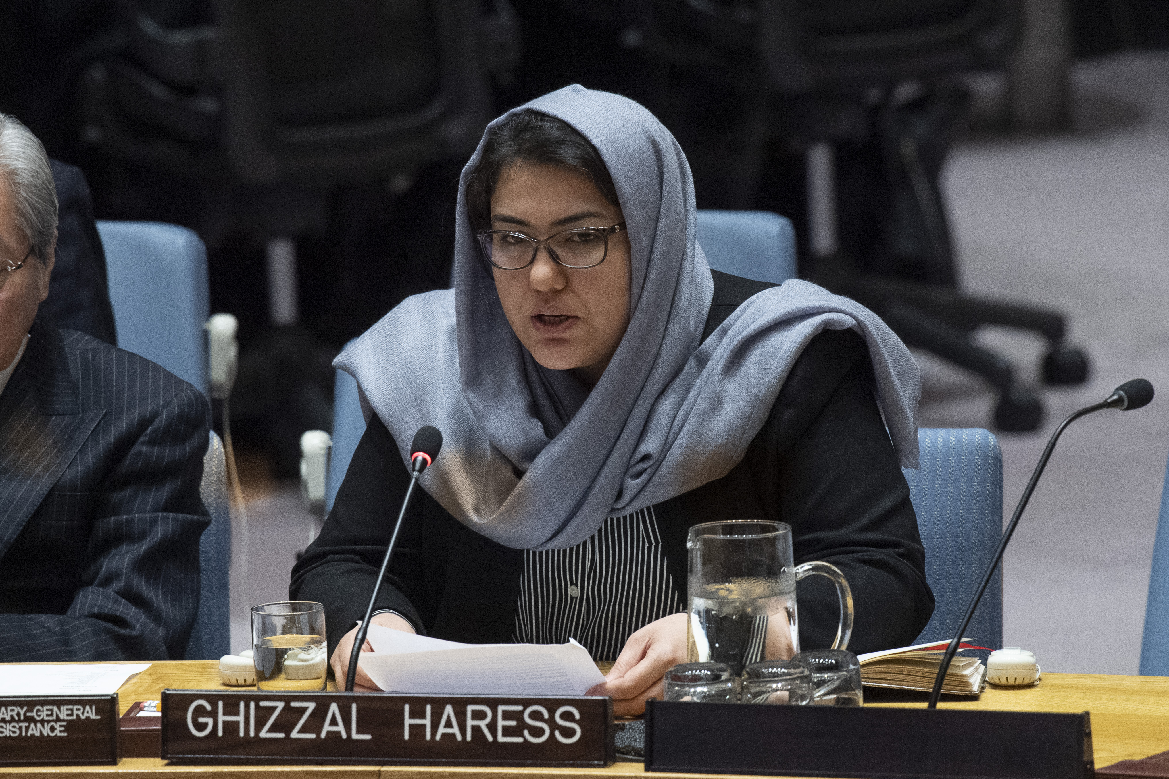 UN Security Council Briefing on Afghanistan by Ghizaal Haress
