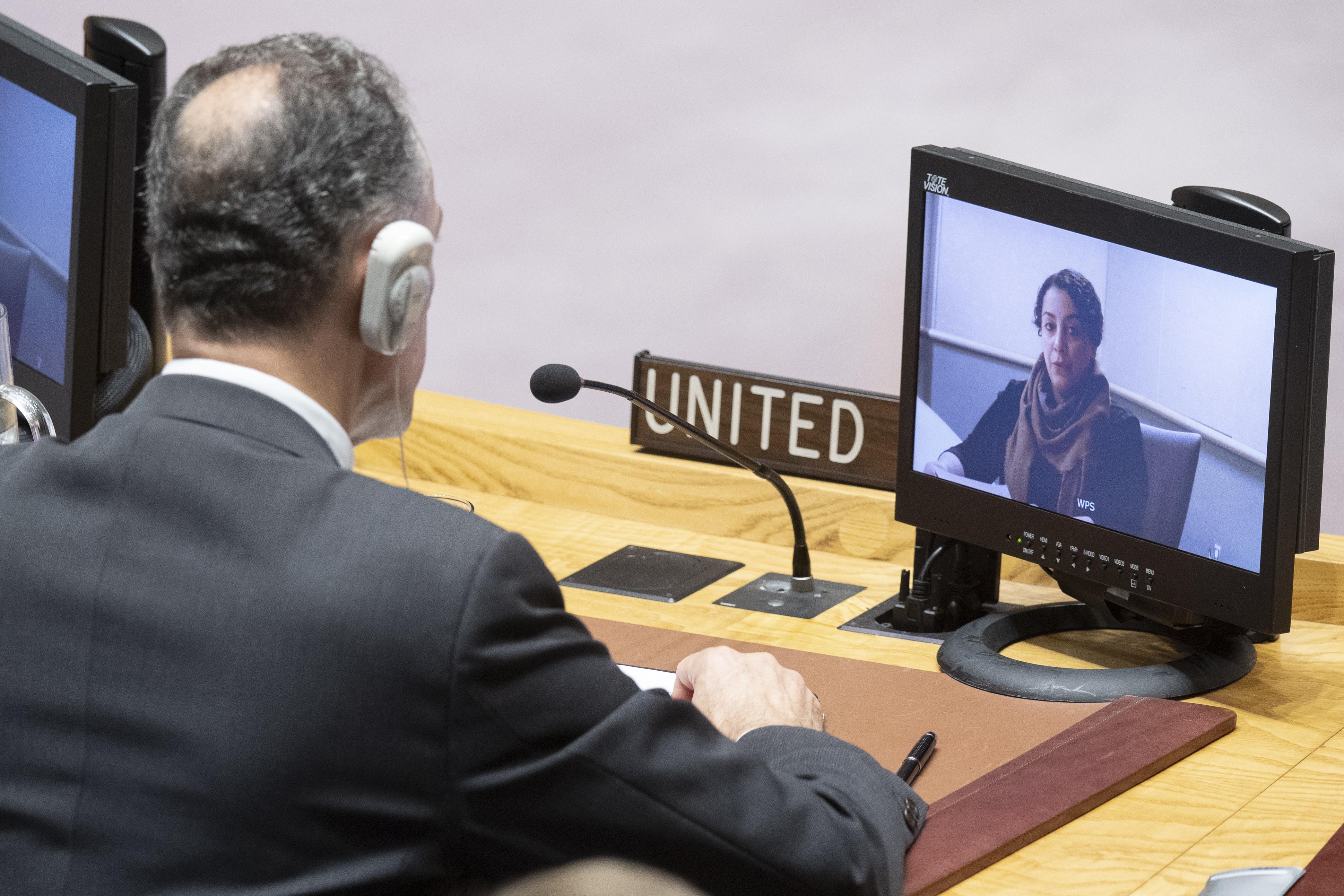 UN Security Council Briefing on Yemen by Rasha Jarhum