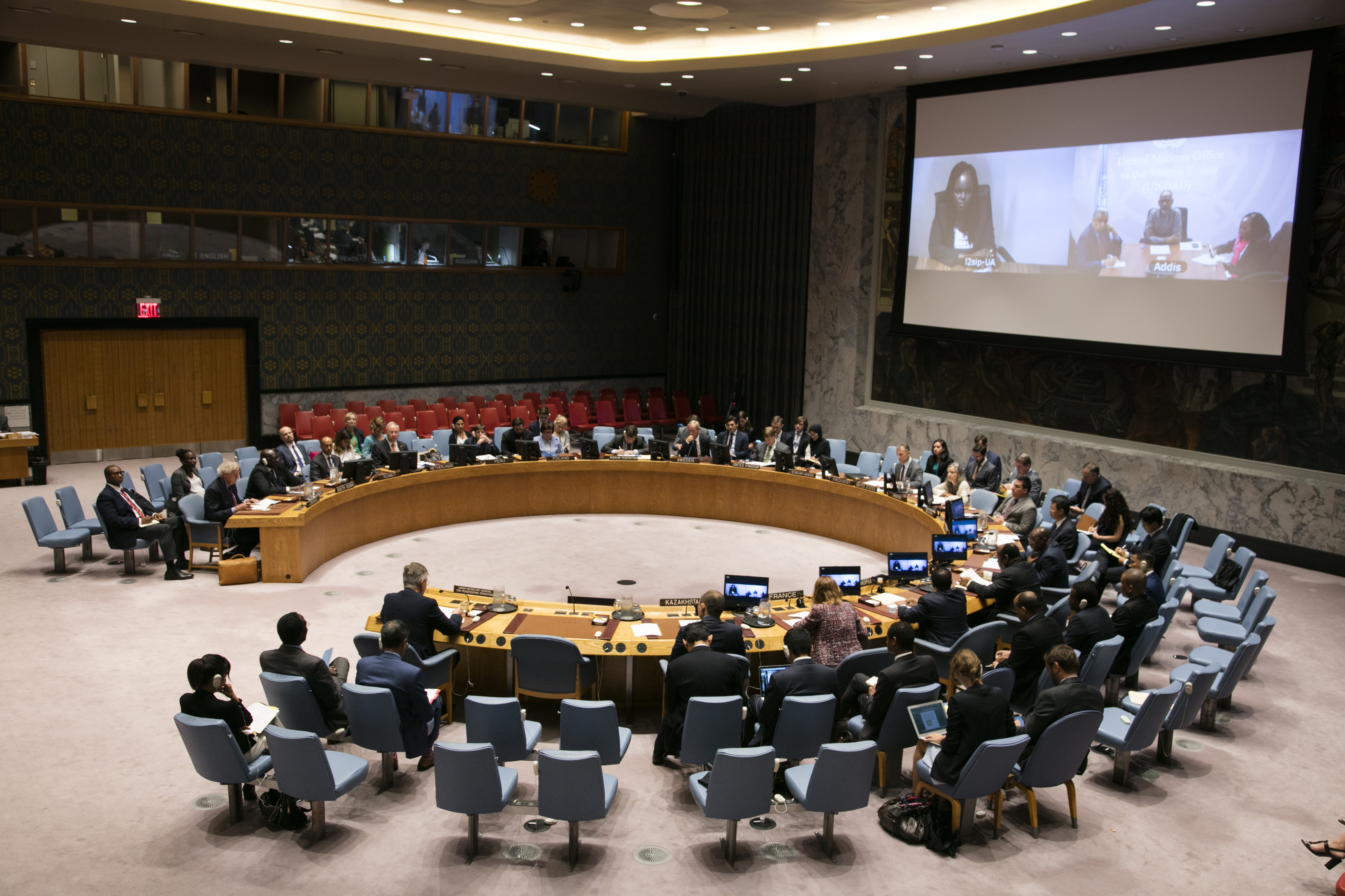 UN Security Council Briefing on South Sudan by Grace John Kenyi Geri