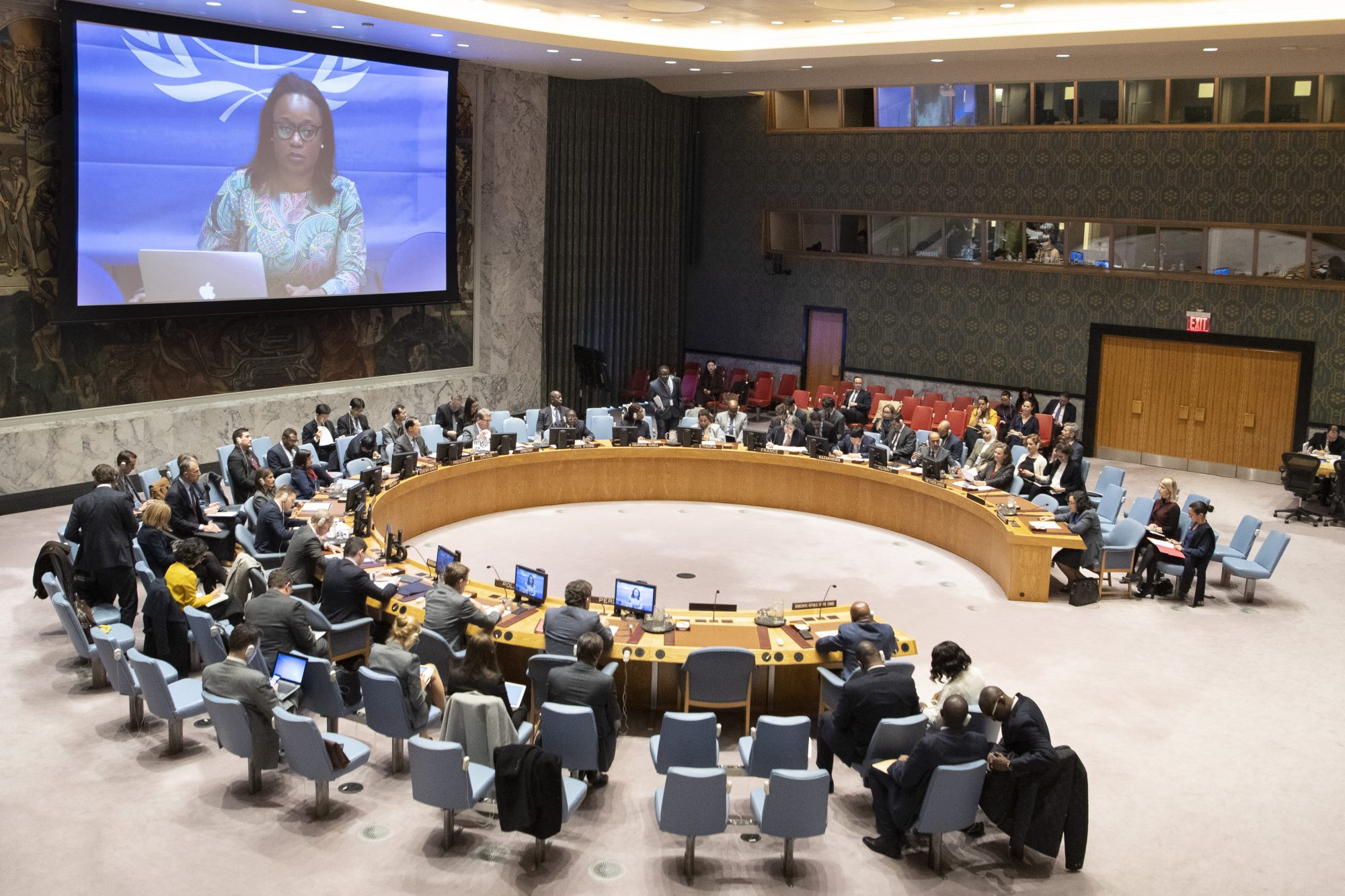 UN Security Council Briefing on the Democratic Republic of the Congo by Josephine Mbela