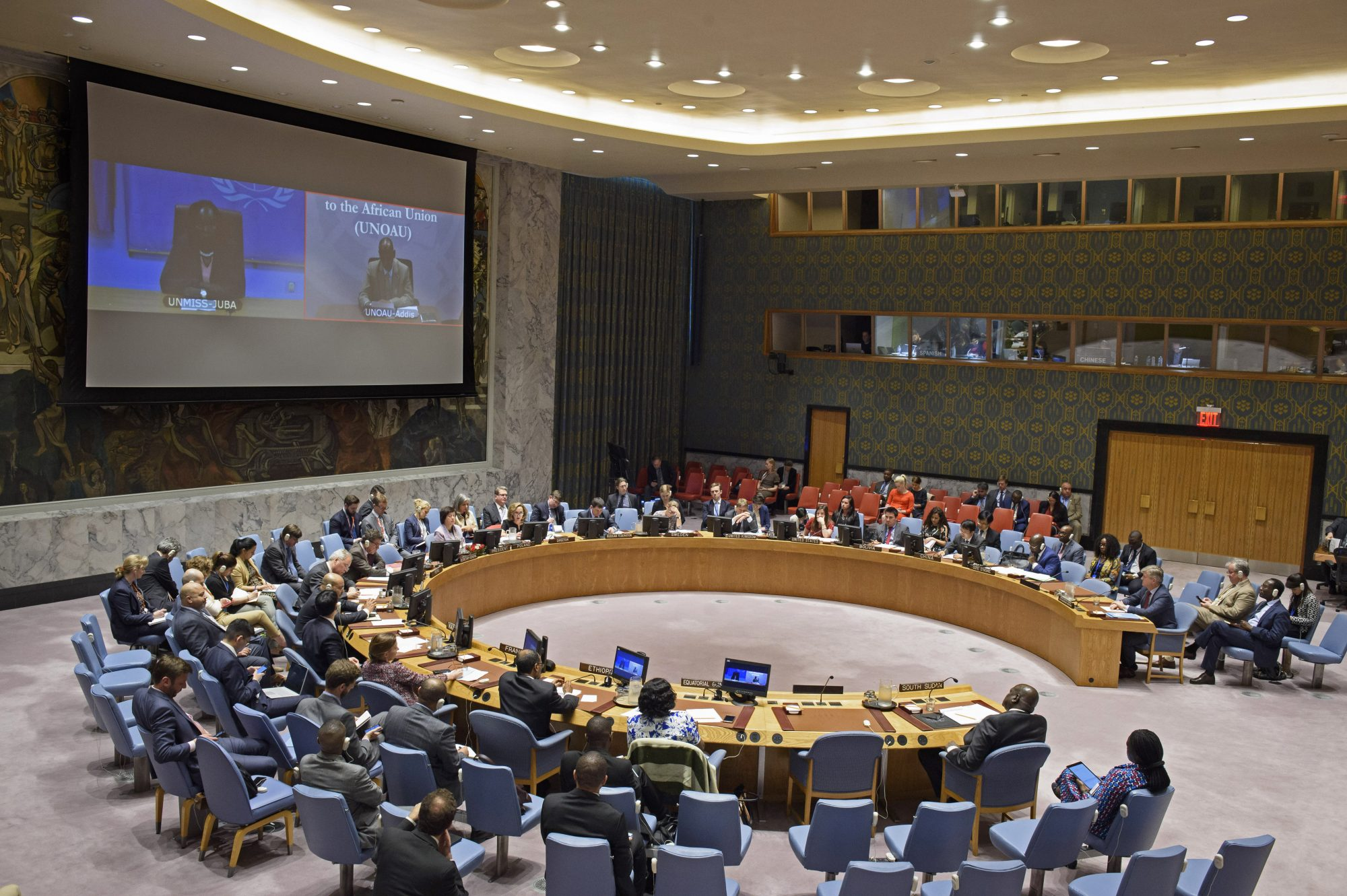UN Security Council Briefing on South Sudan by Jackline Nasiwa